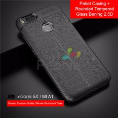 Peonia Ultimate Shockproof Premium Quality Grade A Case For Xiaomi Mi A1 Mi 5X 5 5 Inch Rounded Tempered Glass Bening 2 5D Jawa Barat Diskon 50