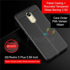 Peonia Ultimate Shockproof Premium Quality Grade A Case For Xiaomi Redmi 5 Plus 5 99 Inch Rounded Tempered Glass Bening 2 5D Di Jawa Barat