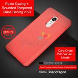 Beli Peonia Ultimate Shockproof Premium Quality Grade A Case For Xiaomi Redmi Note 4 Redmi Note 4X Versi Snapdragon 5 5 Inch Rounded Tempered Glass Murah Jawa Barat