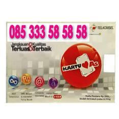 Perdana Nomor Cantik 585858 kartu as 085 333 58 58 58