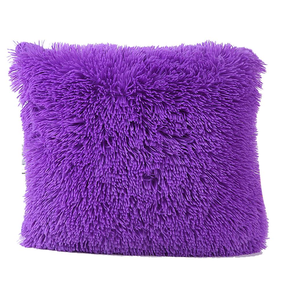 Beli Perempuan Tempat Tidur Mewah Dekorasi Warna Murni Selimut Bantal Untuk Review Mobil Bantal Sofa Sarung Ungu Internasional Tiongkok