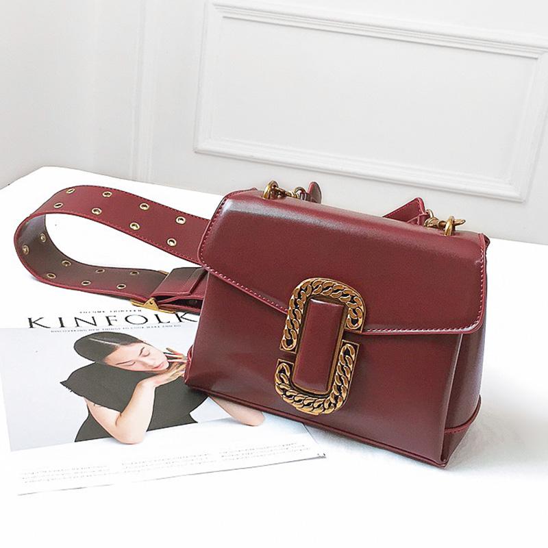 Beli Persegi Kecil Tas Selempang Model Sama Tas Dekoratif Tas Logam Tas Anggur Merah Online