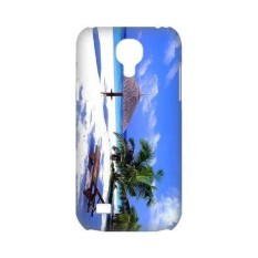 Personality customization Snap-on Famous View Bali islands Travelling Beautiful Pictures Hard Plastic Protective Case Back Cover Shell for SamSung Galaxy S4 mini-1 - intl