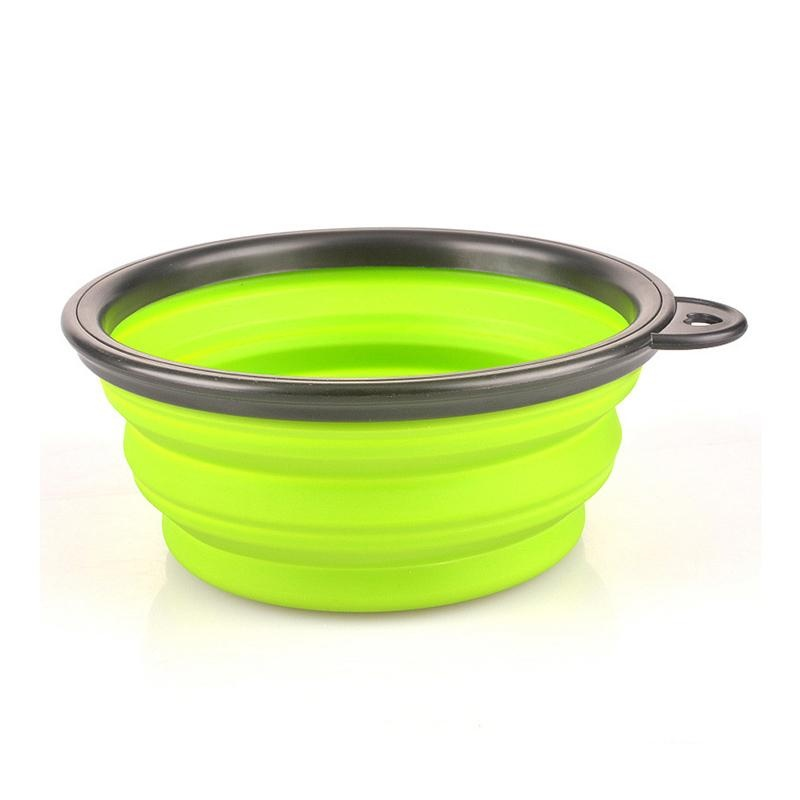 Petelur Portabel Outdoor Bowl dari Collapsible Silicone Anjing PET Bowl Cat Bowl Silikon Bermutu Tinggi Bola-Internasional
