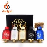 Review Toko Petri Dotmod V5 Rda Limited Version Rebuildable Dripping Atomizer Best Clone Vape Electric Cigarette Gold Online