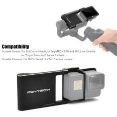 Harga Pgytech Adapter Switch Mount Plate Untuk Gopro Hero5 4 3 Kamera Untuk Dji Osmo Mobile Gimbal Untuk Feiyu Tech Spg Dan Spg Live Gimbals Untuk Zhiyun Smooth C Series Gimbals Intl Not Specified