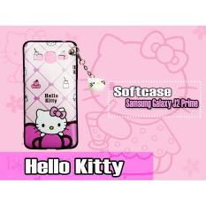 Pheyphey Samsung J2 Prime Case Hello Kity Gantung
