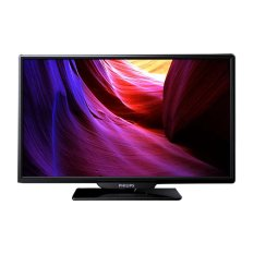 Philips 24 LED TV - 24PHA4100 - Hitam