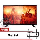 Beli Philips 39 Inch Led Hd Tv Hitam Model 39Pha4251S 70 Free Bracket