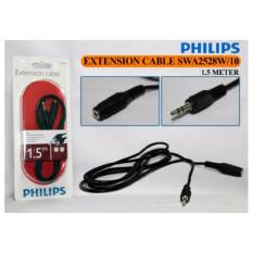 Review Pada Philips Headphone Extension Cable Swa2528W 10 1 5M Htam