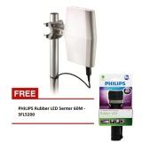 Promo Philips Sdv8622T Digital Antena Tv Indoor Outdoor Free Senter Led Philips Murah
