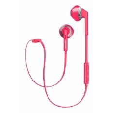 Philips SHB5250 earphone Merah-Intl