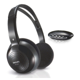 Harga Philips Shc1300 Wireless Hi Fi Headphone Hitam Baru
