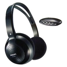 Harga Philips Shc1300 Wireless Hi Fi Headphone Hitam Merk Philips