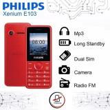 Toko Philips Xenium E103 1 8 Dual Sim Gsm New Online North Sumatra