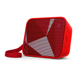 Jual Philips Pixel Pop Wireless Bluetooth Portable Speaker Splashproof Bt 110R Merah Ori