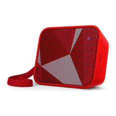 Harga Philips Pixel Pop Wireless Bluetooth Portable Speaker Splashproof Bt 110R Merah Baru