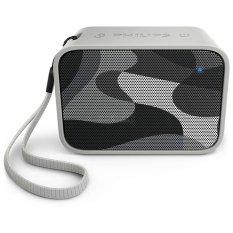 Diskon Philips Pixel Pop Wireless Bluetooth Portable Speaker Splash Proof Bt 110C Abu Abu Philips Di Jawa Timur