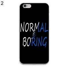 Phoenix B2C Normal Membosankan Casing Ponsel Cover untuk iPhone 6 Plus/6 S Plus (2 #)-Intl