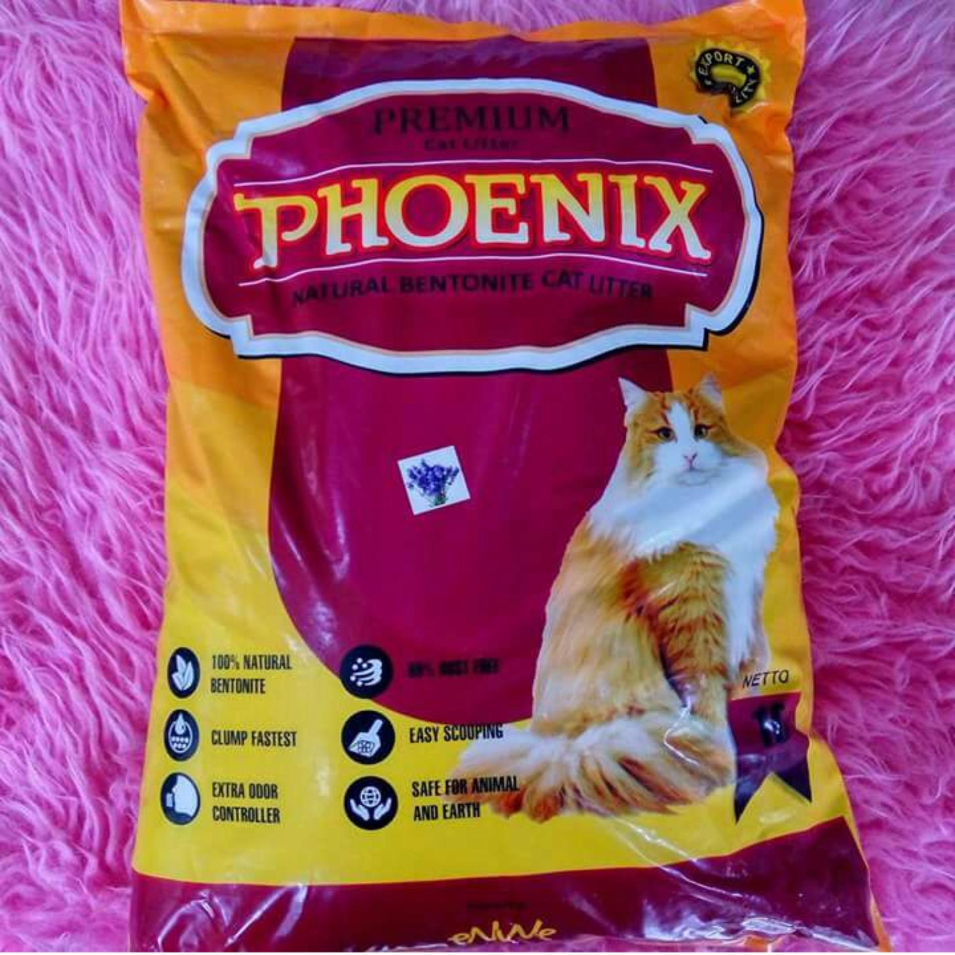 Toko Phoenix Pasir Kucing Cat Litter Gumpal Aroma 10 Liter Lengkap Di Dki Jakarta