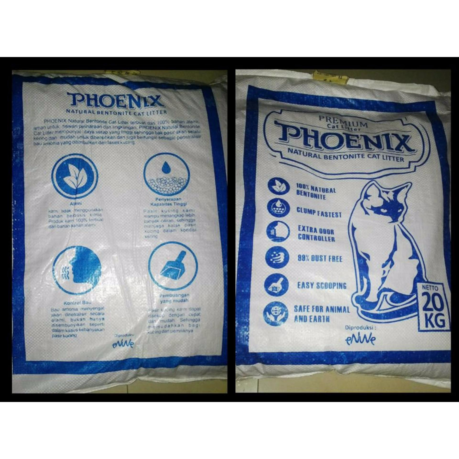 PHOENIX - Pasir Kucing Cat Litter Gumpal Aroma 20kg