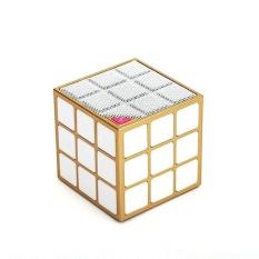 Harga Phone Bluetooth Wireless Rubiks Cube Led Speaker Gold Intl Oem Terbaik