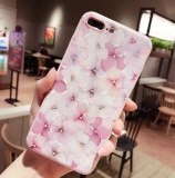 Jual Phone Case For Apple Iphone 6 6S Flowers Painted Pattern Cases Back Cover Capa Intl Lengkap