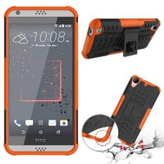 Phone Case For HTC Desire 530 Tough Impact Case Heavy Duty Armor Hybrid Anti-knock Silicon Hard Back Cover For HTC Desire 630 (Orange) - intl