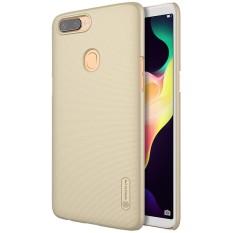 Phone Case untuk OPPO R11S Plus Oleh NILLKIN Frosted PC Plastik Hard Back Case Dirt Resistant Cover dengan Screen Protector -Intl