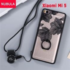 Phone Case untuk Xiao Mi Mi 5 Case Penutup Baru Hot Jual Fashion Ultra Tipis 3D Stereo Relief Colorful Lukisan Lembut Kembali Covers/Anti Jatuh Ponsel Cover/Tahan Guncangan Ponsel Case dengan Logam Cincin dan Ponsel Tali (FENGYE) -Intl