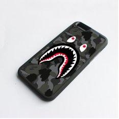 Case Telepon Bape Shark Black Army Pola Untuk Apple Iphone 6 6 S Intl Asli
