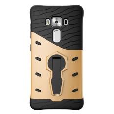 Sarung Ponsel Antiguncangan Phonecase Kembali Pemegang Cover Bagus Sarung Untuk Asus Zenfone 3 Deluxe ZS570KL (5.7)-Intl