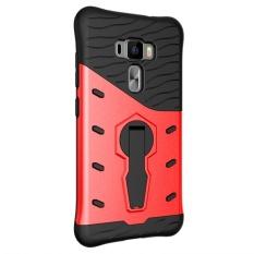 Sarung Ponsel Antiguncangan Phonecase Kembali Pemegang Cover Bagus Sarung Untuk Asus Zenfone 3 ZE552KL-Intl