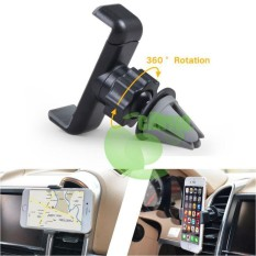 Phone Holder Mobil AC - Vent Car Holder Clip Magnetic Holder (HP) - Hitam