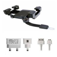 Phone Holder Motor Untuk HP / GPS Free Charger Samsung Galaxy S4