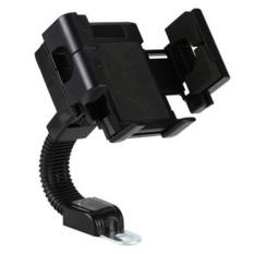 Phone Holder Motorcycle Smartphone Mount Holder - Hitam