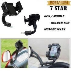 Phone Holder Universal Motor Untuk HP / GPS - Hitam