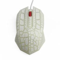 Fotolistrik Breathing Light Game mouse Khusus Internet Kafe/Internet Kafe Aksesoris USB Wired Mouse-Intl