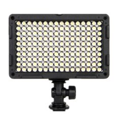 Fotografi Light Bi-color LED Pada Lampu Kamera Video Light (Hitam)-Intl