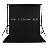 Spesifikasi Photography Studio Video 3 3 6M 9 8 11 8Ft Nonwoven Fabric Backdrop Background Screen Black Intl Paling Bagus