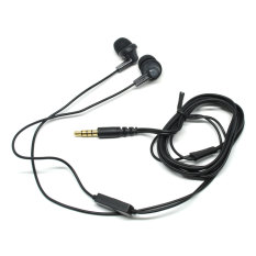 Toko Jual Phrodi 737 Earphone With Microphone Pod 737 Headset Hitam