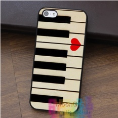 Piano keyboards love valentines music gift idea For Iphone 8 Protection Mobile Phone Case Cover TPU Soft Case - intl