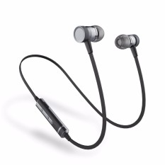 Review Picun H6 Headphone Nirkabel Versi 4 1 Headphone Magnetic Olahraga Bluetooth Earbud Dengan Mikrofon Noise Cancelling In Ear Wireless Headset Gunblack Intl Terbaru