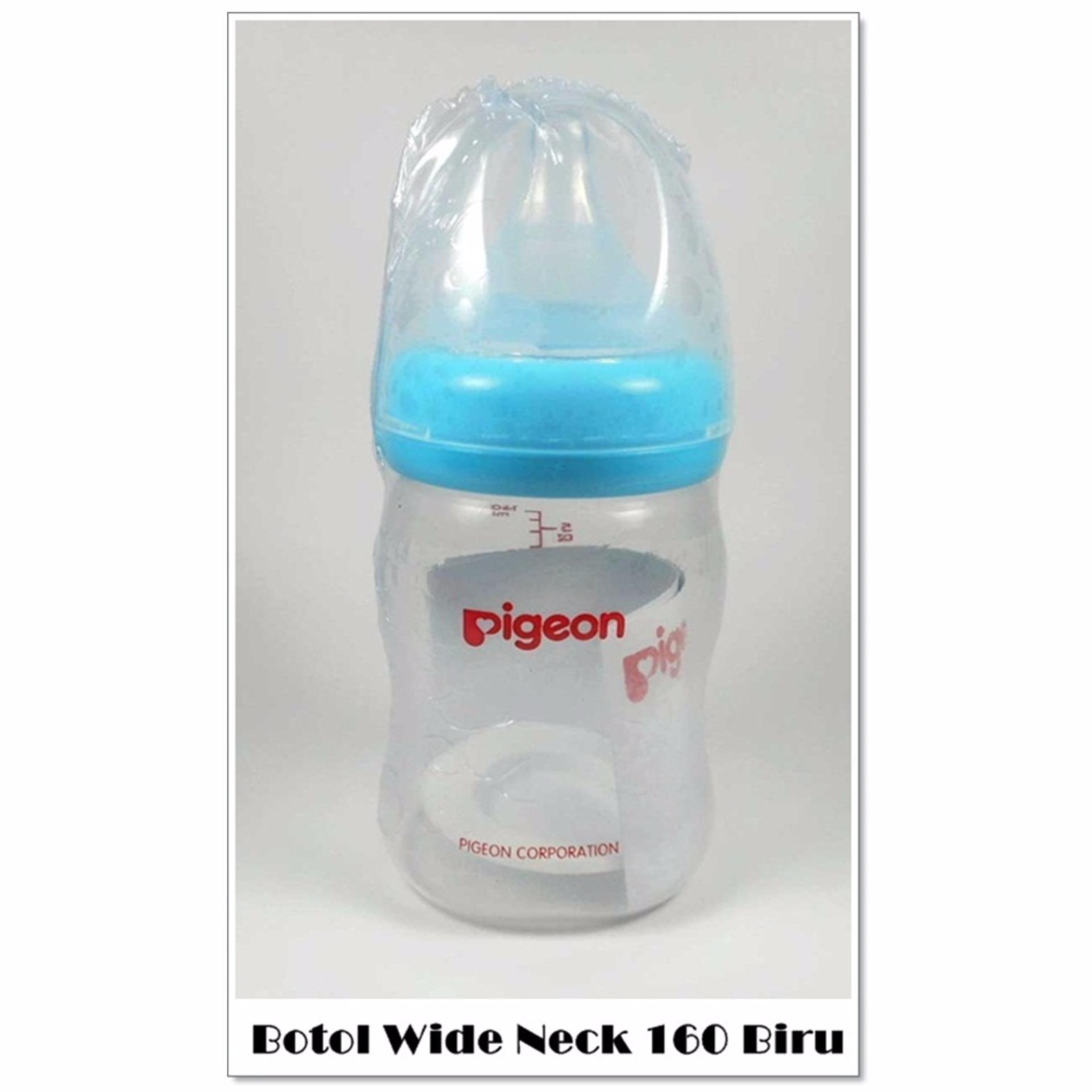 Katalog Pigeon Botol Wide Neck 160 Ml Botol Susu Bayi Warna Biru Pigeon Terbaru