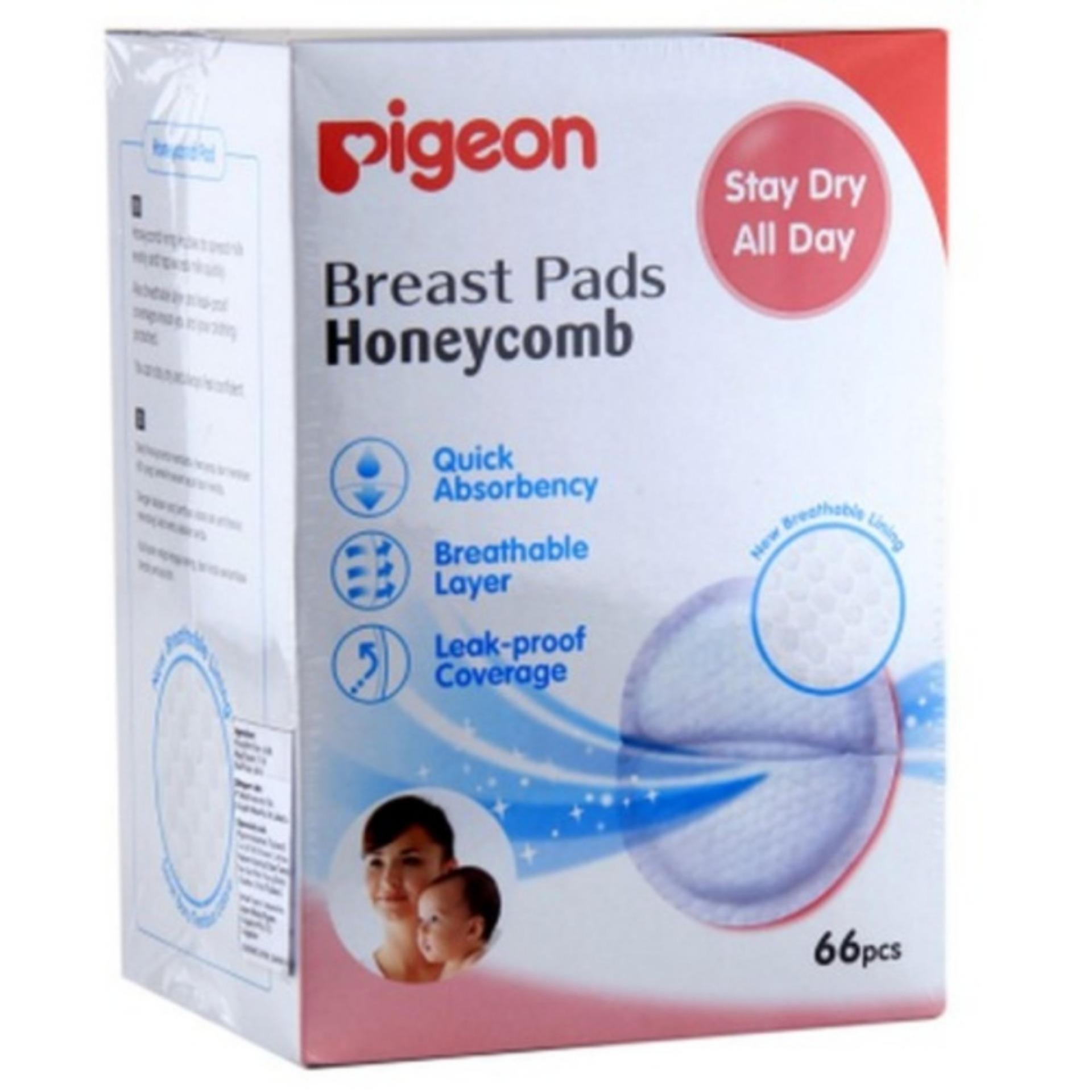 Spesifikasi Pigeon Breast Pad Honey Comb 66 Pcs Bagus
