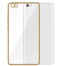 Rp 129.999 PinTo Electroplating Transparent soft Silicone TPU Case case For Xiaomi Note with HD Screen