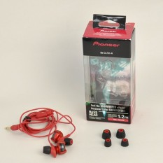 Toko Pioneer Se Cl751 R In Ear Headphone Red Murah Di Indonesia