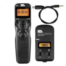 PIXEL FSK 2.4 GHz Wireless Shutter Remote Release Control untuk SonyA58 NEX-3NL A7/A7R A3000 A6000 HX300 RX100ii- INTL