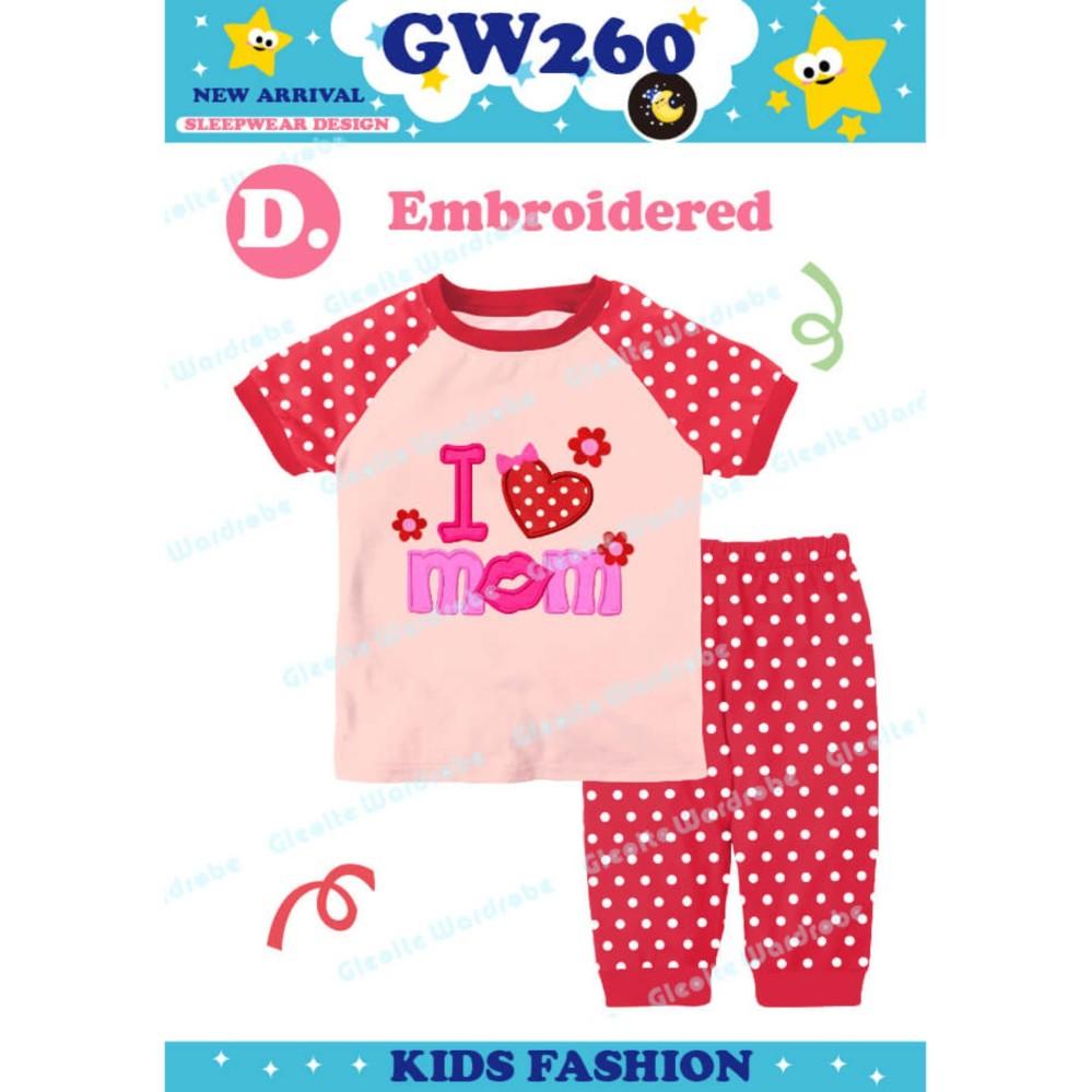 Piyama GW260 D Kids - Baju Tidur Anak Perempuan