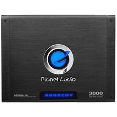 Planet Audio AC3000.1D Anarchy 3000 Watt, 1 Ohm Stable Class D Monoblock Car Amplifier with Remote Subwoofer Control - intl